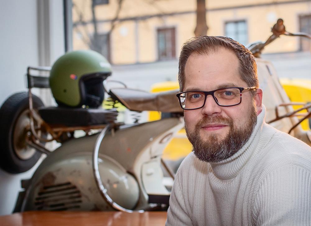 Grundare av kontorshotellet Da Appy Place, co-workingspace i Vasastan, Stockholm